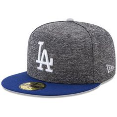 76c9aa3213f8f Los Angeles Dodgers New Era Shadow Tagged 59FIFTY Fitted Hat - Heathered  Gray Royal
