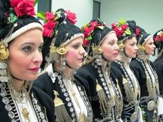 Macedonian Traditional costume and headwear, historical Macedonia, Greece
