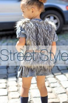 Outfit inspiration and fantastic street style. #StreetStyle #KidsFashion #KiddieStyle #KidsInspiration