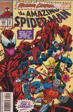 AMAZING SPIDER-MAN #380 Near Mint/Mint $5.00 - Max Carnage!