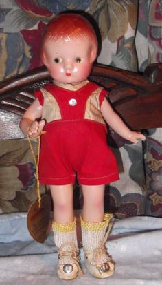 Effanbee Patsyette Composition Doll All Original