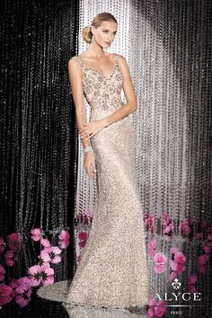 $498 also available in frost blue, wild rose, and gold  Black Label 2015- Viper Apparel Alyce Black Label 5589 Alyce Paris Black Label Prom Dress Shop in Michigan- 2015 Prom Dresses in Stock - Viper Apparel