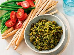 Just like those gourmet chunky coriander and cashew dips that you buy at the supermarket. Dip Recipes, Light Recipes, Great Recipes, Snack Recipes, Snacks, Recipe Ideas, Australian Food, Australian Recipes, Roasted Cashews