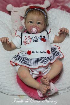 Brunella - bébé reborn fille