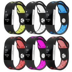 Fitbit Charge 2 Band, Bepack Silica gel Soft Silicone Adjustable Replacement Wristband for Fitbit Charge 2 Smartwatch Heart Rate Fitness Wristband, Heart Rate Monitors - Amazon Canada
