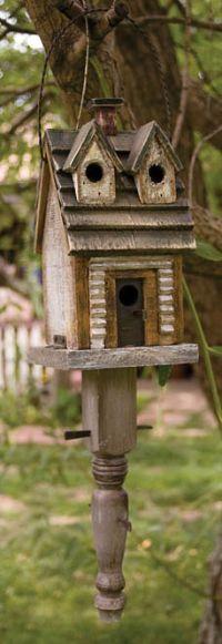 Rustic Woodland Birdhouse