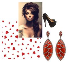"""""""Exotic Elegance"""" by meghnajewels ❤ liked on Polyvore featuring Christian Louboutin"""