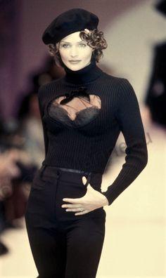 Helena Christensen - Blumarine Runway Show 1993