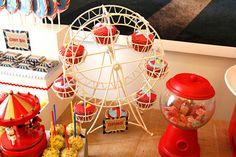 Cakes and Co. » Party Planning & Styling » Circo vintage para el cumple 1 de Francisco