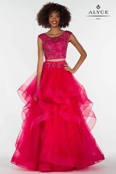 Designer prom dresses from Alyce, Faviana, La Femme, Tiffany Designs, Jovani, Karishma Creations, and more.