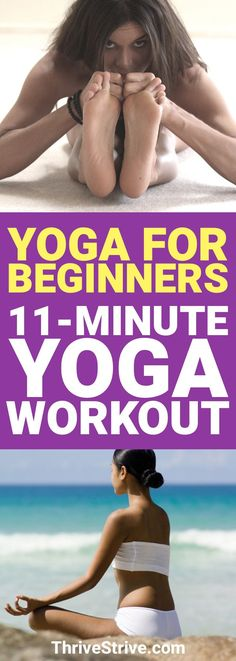Ready to get started with Yoga? This yoga workout is great for any beginners. It's the perfect yoga for beginners workout. Quick Weight Loss Diet, Weight Loss Help, Lose Weight In A Week, Yoga For Weight Loss, Losing Weight Tips, Weight Loss Program, How To Lose Weight Fast, Reduce Weight, Lose Fat