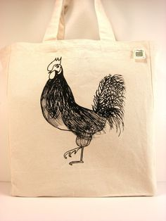 Rooster Tote with ATTITUDE