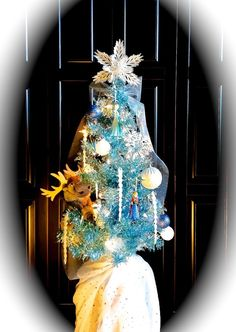 Frozen Christmas Tree • Frozen 2014 Ornaments • Blue Tree • Elsa • Anna • Olaf & Sven • Disney • Frozen Birthday Party • Frozen Baby Shower • Snow Queen • Winter Wonderland • Snowflake Beauty