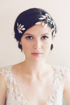Erica Elizabeth Designs - EMPRESS Hair Adornments, Headpieces, Bridal Headpieces, Special Occasion Headpieces, Hair Combs, Wedding Accessories, Wedding Headband, Bridal Hairpin, Silk Flowers