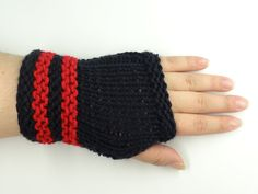 Wrist Warmers, Fingerless Gloves. $19.99, via Etsy.