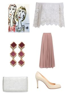 """Set 6...November 20th."" by liz957 ❤ liked on Polyvore featuring Christian Louboutin, Lara Khoury, Monica Vinader, Chelsea28, outfit, set, bestofpolyvore and polyvorefashion"