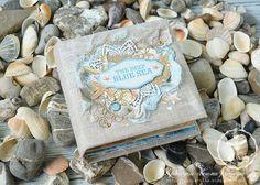 Bee Shabby: Альбом от Ульяны и Полины. Вдохновение коллекцией Blue Sea