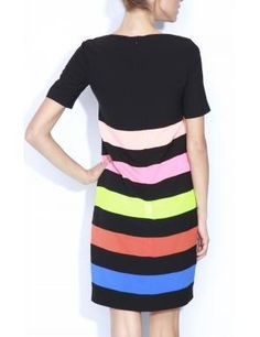 NISSA Rochie Rz5286 Multicolor - http://outlet-mall.net/outlet/outlet-femei/rochii/nissa-rochie-rz5286-multicolor/