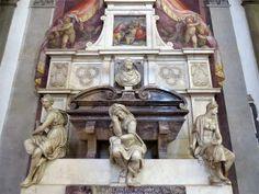 Tomb of Michelangelo Buonarroti by Giorgio Vasari, Basilica di Santa, Florence