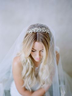 Coiffure mariage voile