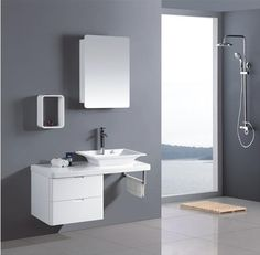 Corner medicine #cabinet is one of the beneficial items to save small space in your bathroom.