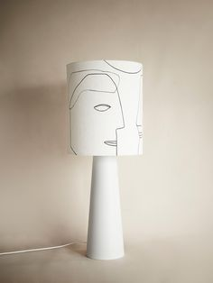 This cone shaped lamp base in a matt light grey color creates creates a beautiful combination with the printed lamp shade in linen. Material: Earthenware, linen Dimensions: H: 97 cm, W: 36 cm Notable: dimmable, max Light bulb is not included. Interior Lighting, Modern Lighting, Shimmer Lights, Indirect Lighting, Black Table Lamps, Hurricane Lamps, Lamp Bases, Earthenware, Wall Prints