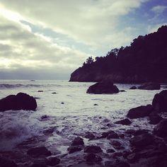 Muir Beach, where I was a year ago! Thanks for an awesome year California! #newyear | @designconundrum