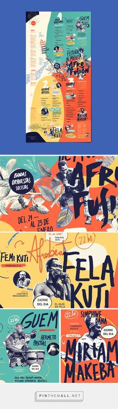 Afro Fusion Festival Branding by Cynthia Alonso | Fivestar Branding – Design and Branding Agency & Inspiration Gallery