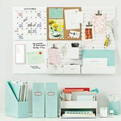 Desk organization Martha Stewart Home Office Furniture Sweepstakes Home Office Furniture, Home Office Decor, Office Ideas, Office Designs, Office Chic, Office Table, Luxury Furniture, Furniture Ideas, Feminine Office