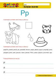 Comunicare in limba romana Archives - Manute Pricepute Letters And Numbers, Kindergarten, Map, Education, Kids, Homeschooling, Diana, Printables, Young Children