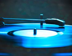 20 OFF PRINT SALE Record Player Print  Blue by Squintphotography, $40.00
