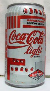 LATAS Y BOTELLAS COLECCIÓN: COCA COLA LIGHT  ARGENTINA 1995
