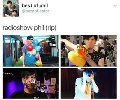 "I though it said ""rainbow phil""..."