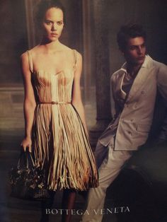 Ribbons of inspiration! (Photo of Bottega Veneta ad in WSJ Magazine Feb Wsj Magazine, Bottega Veneta, Fashion Photography, My Style, Ribbons, Inspiration, Romantic, Vintage, Dresses