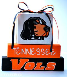 University of Tennessee Vols Smokey WoodenBlock by WoodenBlock, $15.00