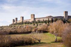 Monteriggioni. Foto di Francesco Ferruzzi su http://www.flickr.com/photos/fra2k/8591057512