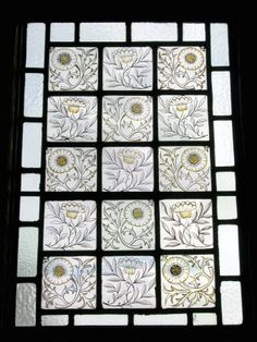 Stained Glass Panel, William Morris & Co., c.1880. Wightwick Manor © National Trust / Sophia Farley and Claire Reeves #William_Morris #Morris_and_Co