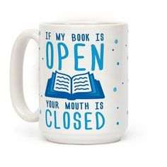 Sassy but true! 18 hilarious bookish mugs that would make great gift ideas for friends who love to read.