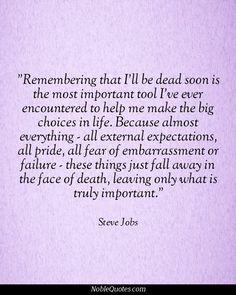 Steve Jobs Quotes | http://noblequotes.com/