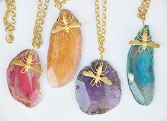 Gorgeous Agate Necklaces