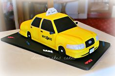 New York Taxi Cake | Flickr - Photo Sharing!