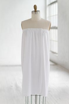 Terry Cloth Spa Wrap White  Luxury  Spa  Robe  Plush  pamper   d35192607