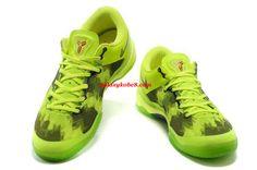 Nike Kobe Elite 8 Lime Green Volt Black 555035 701      #Volt  #Womens #Sneakers