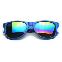 f201e5816ba New Flash REVO Mirrored Retro Color Wayfarer Sunglasses Retro Color
