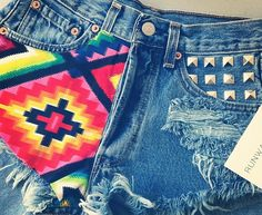 obsessed with #cutoff shorts and #studs