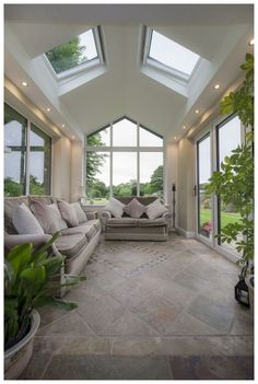 46 Beautiful Sunroom Windows to Relax in Some Space models architecture House Plans, House Exterior, House Design, Sunroom Designs, New Homes, Beautiful Homes, Garden Room Extensions, House Interior, House Extensions