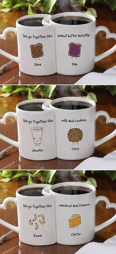 Add any design or picture or texts you like to your own custom mugs or bottles.