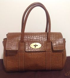 Authentic Mulberry Ledbury (Baby Bayswater) Oak Congo Leather. Superb Cond  475.00 This is 6d9621b091102