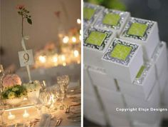 Elsje Designs ~ couture stationery : seating plans