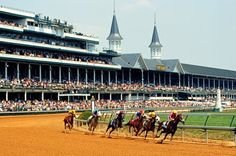 The Kentucky Derby at Church Hill Downs.. I have been to a rolling stones concert at church hill but not the derby.